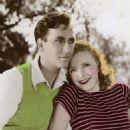 Priscilla Lane and Jeffrey Lynn - 454 x 727