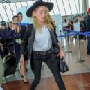 Amber Heard – Arrives at Nice Airport