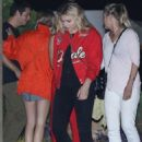 Chloe Moretz out for dinner in Malibu