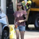Amanda Seyfried in Denim Shorts – Out in West Hollywood