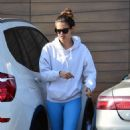 Sara Sampaio – Heading to a gym in Los Angeles