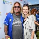 Vince Neil of Motley Crue arrives at the 27th Annual City of Hope Celebrity Softball Game at First Tennessee Park on June 10, 2017 in Nashville, Tennessee