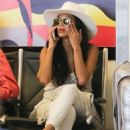 Nicole Scherzinger – Spotted at Los Angeles International Airport