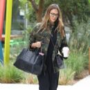 Jessica Alba arriving at an office building  (August 25, 2017)