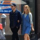 Melissa Benoist and Chris Wood – Out in West Hollywood 06/03/2019