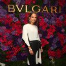 Alicia Vikander – Bulgari pre-Oscar Celebration in Hollywood 2/25/ 2017