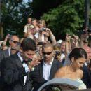 Wedding of Anna Stachurska and Robert Lewandowski - 454 x 303