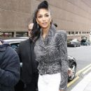 Nicole Scherzinger heading to 'X-Factor' auditions in Liverpool (July 18)