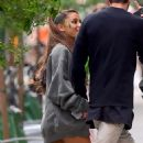 Ariana Grande With Pete Davidson out in NYC