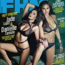 Jade Lopez and Danielle Castano FHM Philippines February 2012