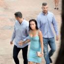 Georgina Rodriguez and Cristiano Ronaldo out in Malaga - 454 x 645