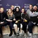 Titles: The IMDb Studio at Sundance, Fighting with My Family People: Vince Vaughn, Nick Frost, Lena Headey, Stephen Merchant, Jack Lowden, Saraya-Jade Bevis, Florence Pugh Photo by Rich Polk - © 2019 Getty Images - Image courtesy gettyimages.com - 454 x 341