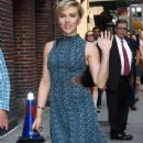 Scarlett Johansson At The Late Show With Stephen Colbert' TV show in New York City - 236 x 450