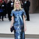 Celebrities at Burberry Prorsum 2013 Fashion Show at London Fashion Week