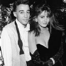 Donya Fiorentino and Andrew Ridgeley