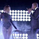 Beyonce performs onstage during the 56th GRAMMY Awards at Staples Center on January 26, 2014 in Los Angeles, California