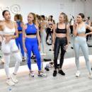 Olivia Culpo – Hosts P.volve's Studio Opening in NY