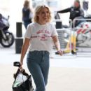 Mollie King – Arriving at BBC Studios in London - 454 x 669