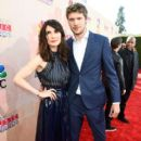 Carice Van Houten and Kees van Nieuwkerk At The 2015 iHeartRadio Music Awards On NBC - Arrivals - 399 x 600