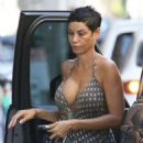 Nicole Murphy in Summer Dress – Out in Beverly Hills - 454 x 536