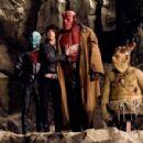 Doug Jones, Selma Blair and Ron Perlman stars in Guillermo del Toro action fantasy 'Hellboy 2: The Golden Army.'