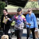 Sophie Turner and Joe Jonas – Grab a meal at Sweet Butter in Studio City