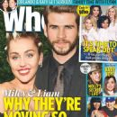 Miley Cyrus and Liam Hemsworth - Who Magazine Cover [Australia] (22 February 2016)