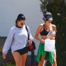 Hailey Bieber – Seen leaving her early morning gym session in West Hollywood