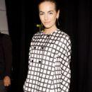 Camilla Belle: Michael Kors runway show