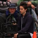 Jared Leto On A Video Shoot For His Band 'Thirty Seconds To Mars' 2