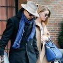 AMBER HEARD Arriving at Her Hotel in New York