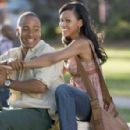 Columbus Short as DJ and Meagan Good as April in Screen Gems' Stomp the Yard. Photo by: Alfeo Dixon ©2006 Screen Gems, Inc. All rights reserved.