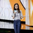 Lily Collins – WE Day 2018 London - 454 x 709
