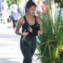 Brenda Song leaving a gym in West Hollywood, California on January 25, 2014