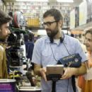 L-R: Jemaine Clement, Director/Co-Writer Jared Hess and Michael Angarano in GENTLEMEN BRONCOS. Photo Credit: Seth Smoot