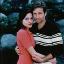 David Duchovny and Angelina Jolie