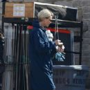 Charlize Theron – On set of new film in Mailibu