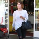 Ashley Benson out running some errands in Los Angeles, California on January 14, 2013
