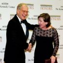 David Letterman and his wife Regina Lasko arrive for a dinner for Kennedy honorees Dec. 1, 2012