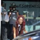 Keke Palmer – Filming a scene for 'AwesomenessTV' in Los Angeles - 454 x 681