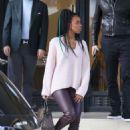 Kelly Rowland – Christmas Shopping at Barney's New York in LA - 454 x 632