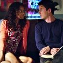 Dylan Minnette and Ajiona Alexus