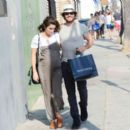 Nikki Reed and Ian Somerhalder out in Venice - 454 x 392