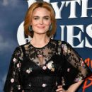 Emily Deschanel – 'Mythic Quest: Raven's Banquet' Premiere in Los Angeles
