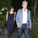 Katharine McPhee and David Foster – Arriving to the Simon Cowell 'Hollywood Star Celebration Party' in LA - 454 x 664