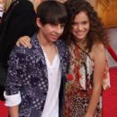 Madison Pettis and Moises Arias