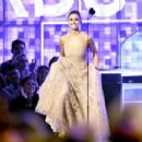Nina Dobrev attends the 61st Annual GRAMMY Awards at Staples Center on February 10, 2019 in Los Angeles, California