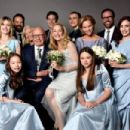 Rupert Murdoch and Jerry Hall wedding at St. Bride's Church on Fleet Street, London, Britain - 5 March 2016 - 454 x 303