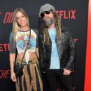 Rob Zombie arrives at the premiere of Netflix's