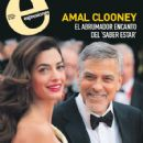 George Clooney and Amal Alamuddin - 425 x 479